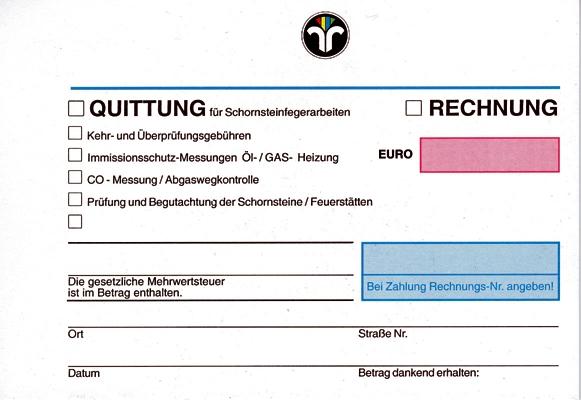 Quittung/Rechnung 500 Blatt
