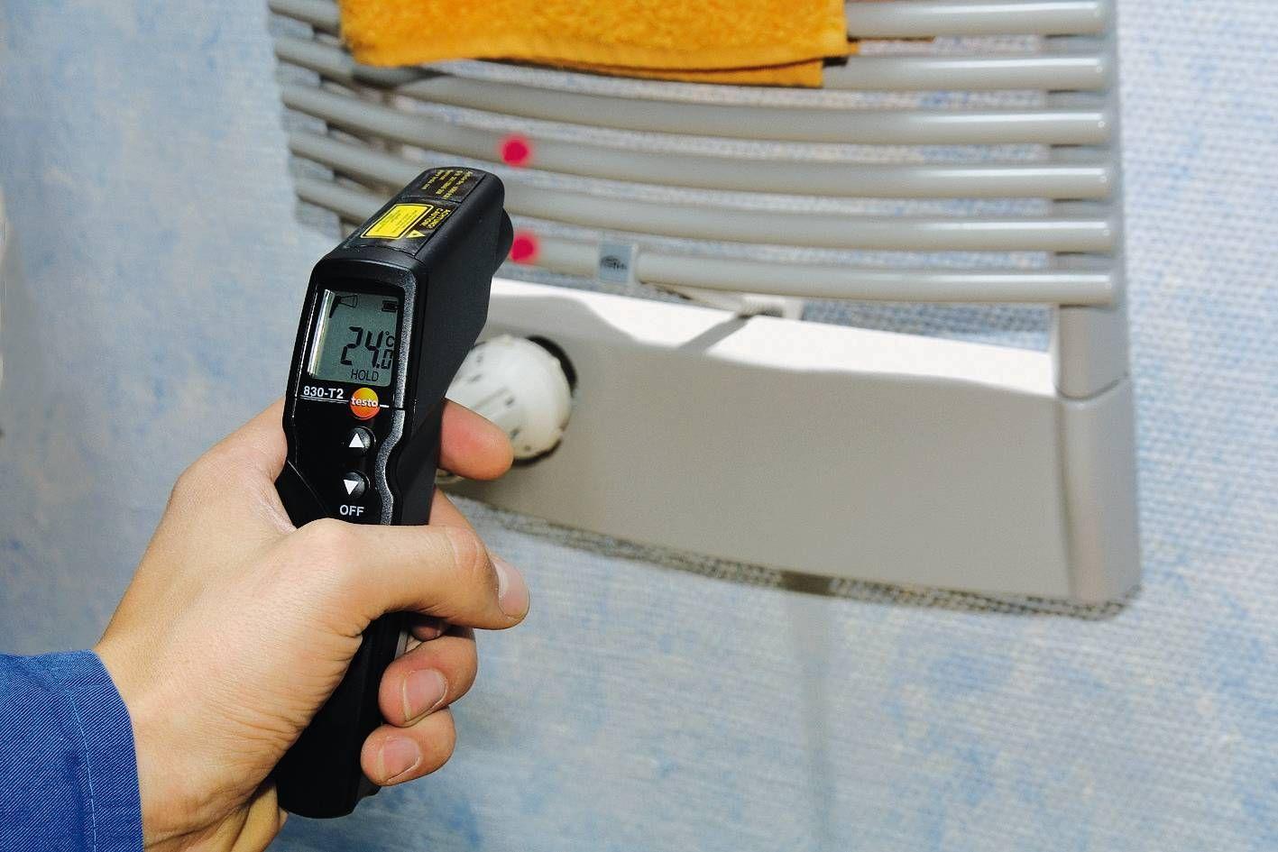 testo 830 T2 - IR-Temperaturmessgerät