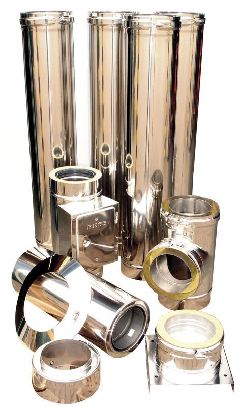 5 Meter Grundpaket Doppelw. System Ø 150 mm eka complex D